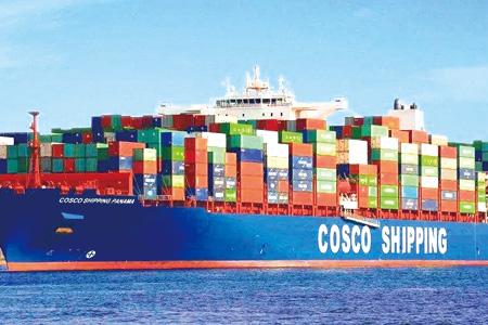 中远佐敦船舶涂料  集装箱涂料销量大增