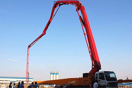 中国智造:101米世界最长臂架泵车是怎么造出来的?