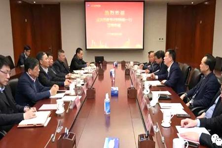 宇星颜料陪同宜兴市相关负责人与华谊集团深入研讨交流
