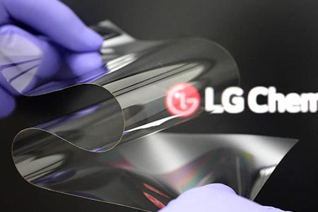 LG 新开发和玻璃一样硬但折起来像塑料的表面材料